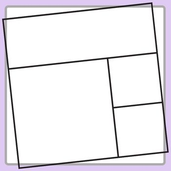 Square Task Card Templates Set 1 Clip Art for Commercial Use
