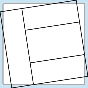 Square Task Card Templates Set 2 Clip Art for Commercial Use