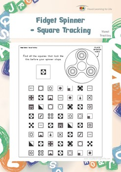 Fidget Spinner - Square Tracking