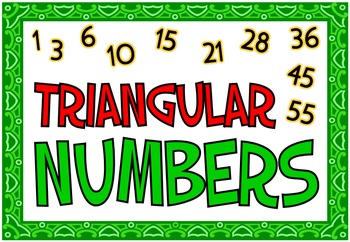 Square & Triangular Numbers (BUNDLE PACK)