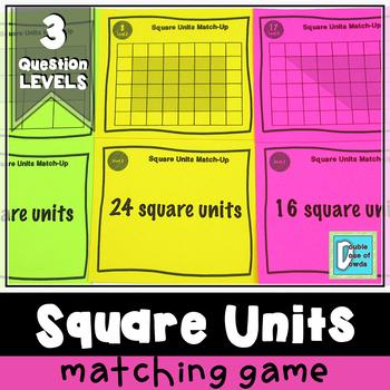 Square Units Matching Game
