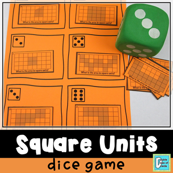 Square Units Roll & Play Dice Game