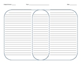 Square Venn Diagram with Lines