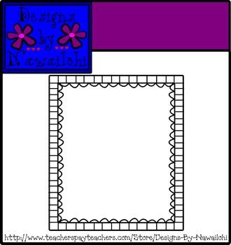 Borders: Squares and Circles