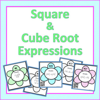 Square and Cube Root Expressions