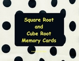 Square and Cube Root Memory Cards Bundle