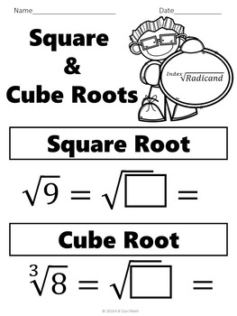 Square and Cube Roots