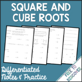 Square & Cube Roots Notes and Practice   Distance Learning