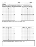 Square root function transformation investigation