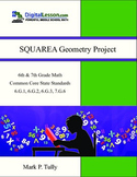 Squarea Geometry Project - Area, Volume, and Surface Area