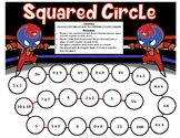 Squared Circle - A 2-Player Game to Practice the Multiplication Squares