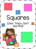 Square Sort, Color, Trace, and Find!