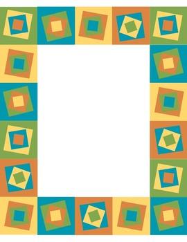 Squares Digital Paper