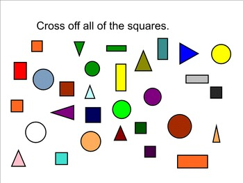 Squares Math Smart Notebook