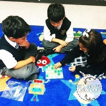 Math Review Games Kindergarten: Squares Your Brain™