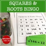 Squares and Square Roots Bingo
