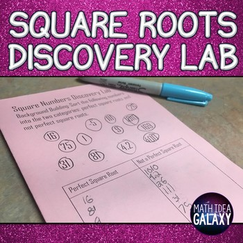 Squares and Square Roots Presentation