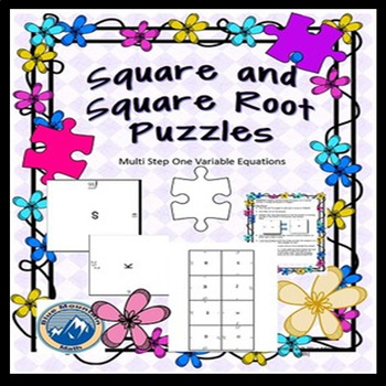 Squares and Square Roots Puzzles