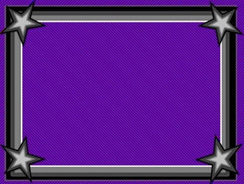 Squares and Stars Borders and Background graphics - Commercial Use