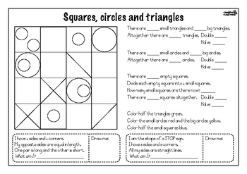 Squares, circles and triangles