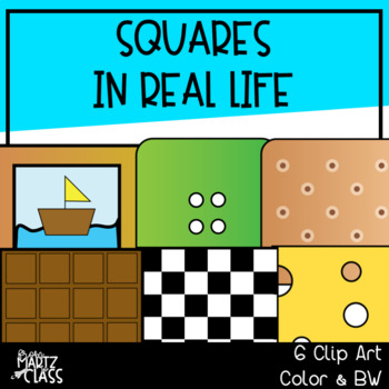 Squares in real life (2D SHAPES)