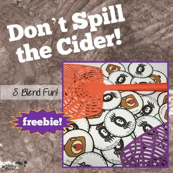 Squash the Spider! Don't Spill the Cider! S Blend FREEBIE