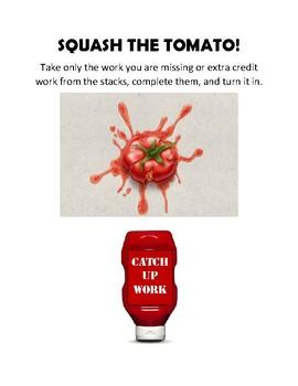 Squash the Tomato Poster