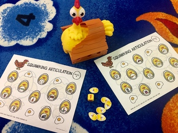 Squawking Articulation A Speech Therapy Game Companion