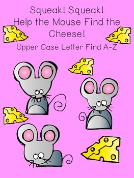 Squeak, Squeak Upper Case Letter Find
