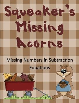 Squeaker's Missing Acorns