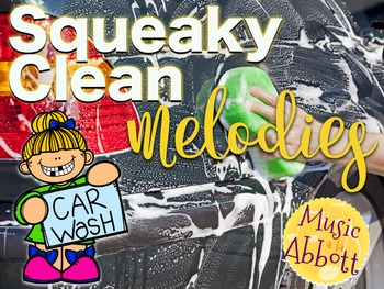 Squeaky Clean Melodies {A Bundled Set of Melody Games for the Music Room}