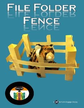 Squeezing in STEM: File Folder Fence