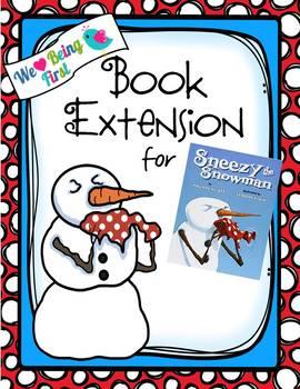 Sneezy the Snowman Book Extension K-2