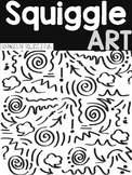 Squiggle Art | Scribble Art | 50 PAGES!