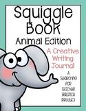 Squiggle Book (Animal Edition) - Creative Writing Journal