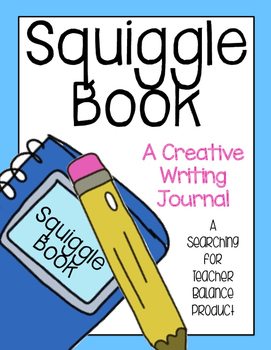 Squiggle Book - Creative Writing Journal
