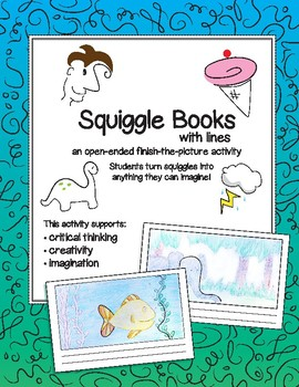 Squiggle Book: with lines!