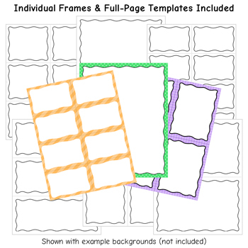 Squiggle Borders and Frames