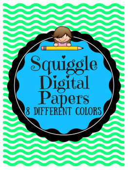 Squiggle Digital Papers!