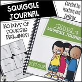 Squiggle Drawing Journal