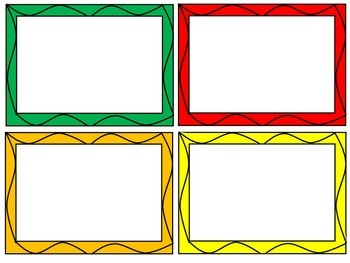 Squiggle Rectangle Frames