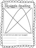 Squiggle Spelling(Word Work) First Grade