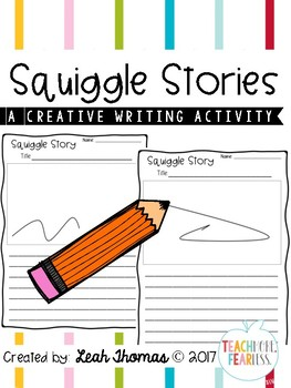 Squiggle Stories {A CREATIVE WRITING ACTIVITY}