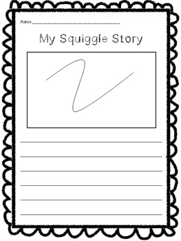 Squiggle Stories ( A Creative Writing Activity)
