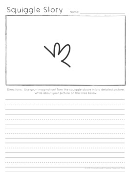 Squiggle Stories: Creative Writing Activities for K-2
