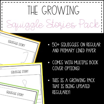 The Growing Squiggle Stories Pack