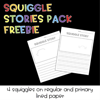 Squiggle Stories Pack FREEBIE