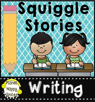 Squiggle Stories, Squiggle Book Creative Writing Activities