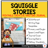 Squiggle Stories Creative Writing Activity and Journal