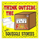 Early Finisher Fall Writing Squiggle Story